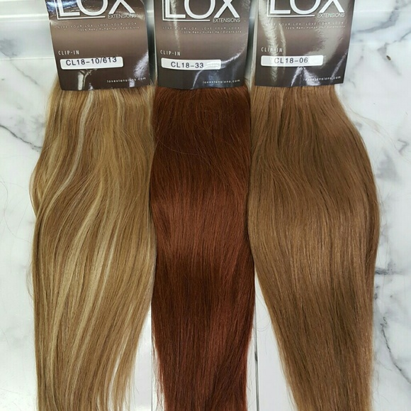 Lox Professional Hair Extensions Accessories 18 Inch Lox Clip In